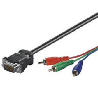 VGA Kabel VGA Stecker > 3x Cinch RBG (Video) online kaufen ...