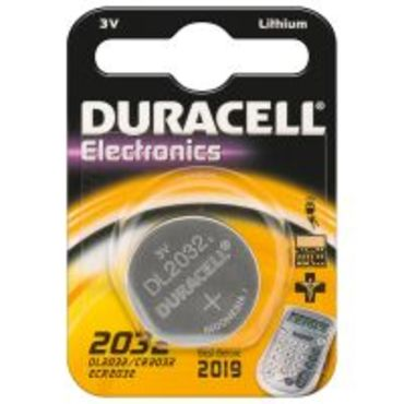 CR2032 Duracell Lithium Knopfzelle