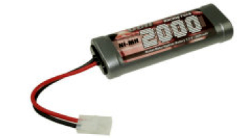 7,2V Racing Pack Ni-MH 2000mAh