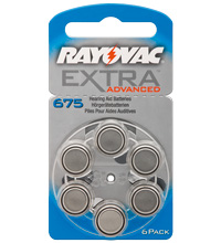 Rayovac  R675AE EXTRA ADVANCED